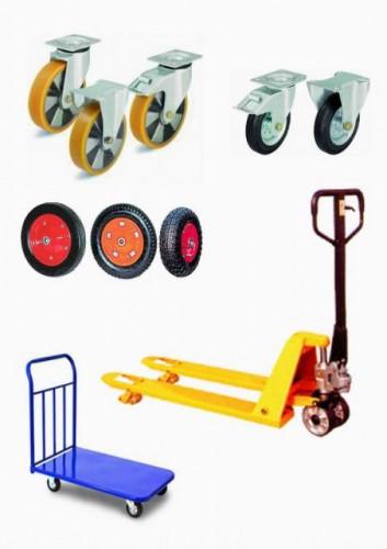 колеса тележка